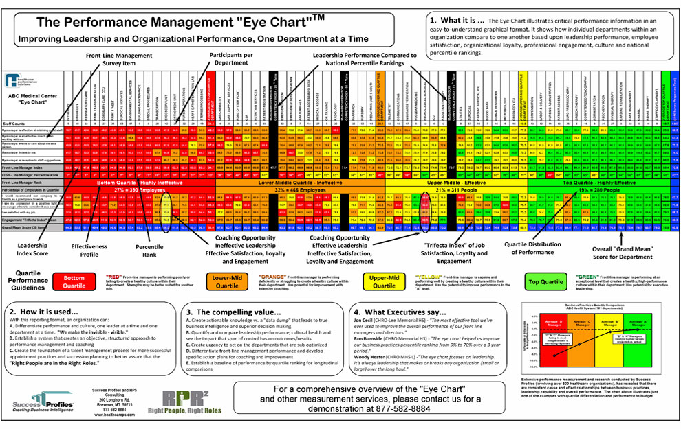 Right People Right Roles Performance Management Eye Chart